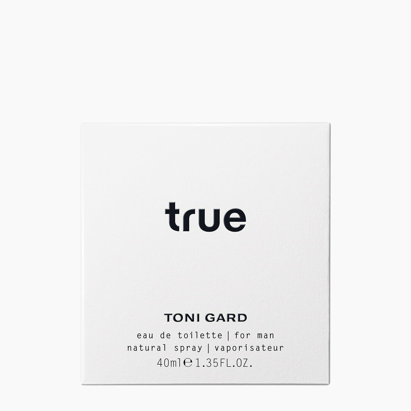 TRUE FOR MAN Eau de Toilette / 40 ML